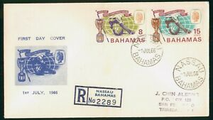 MayfairStamps Cover 1966 World Cup Football (Soccer) Bahamas 1966 First Day Cove