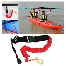 2pcs Paddle Leash Fishing Leash Safety Rod Leash Lanyard For Kayak Canoe R9S6