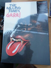 "ROLLING STONES ""Grrr!"" Super Deluxe 5 CD + 7"" Vinyl Box Set sealed US"