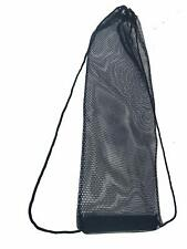 Snorkeling, Scuba Diving, Swimming Mesh Bag. Swim Fin Mesh Gear Bag.