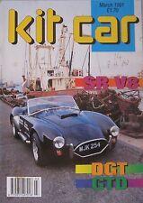 Kit Car magazine 03/1991 featuring SR V8, DGT, GTD 40 Mk II, JBA