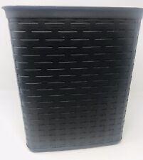 Sterilite Weave 3.4 Gallon Plastic Home/Office Wastebasket Trash Can Brown