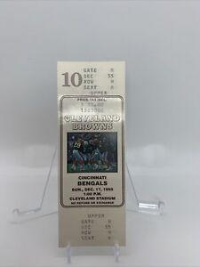 FULL 1995 Cleveland Browns Cincinnati Bengals Last Game At Cleveland Stadium