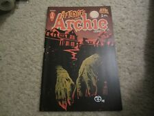 AFTERLIFE WITH ARCHIE  #1 2ND PRINT VARIANT SIGNED BY Francesco Francavilla