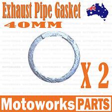 2X 40mm Copper Exhaust Pipe Gasket 150cc 250cc PIT PRO Quad Dirt Bike ATV Buggy