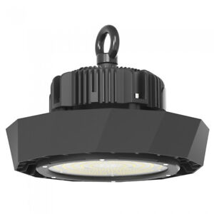 LED High Bay 100W Meanwell Driver 18,000 Lumens Dimmable Commercial Lighting UFO