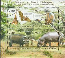 Tiere Afrikas Togo postfrisch 2745