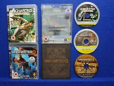 *ps3 UNCHARTED 1 + 2 + 3 (NI)*z Drake's Fortune Among Thieves + Deception PAL