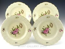 "Royal Copenhagen #1621 Frijsenborg Floral 10"" Dinner Plates Set of 4"