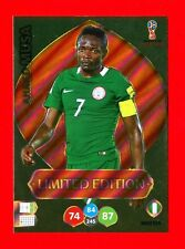 WC RUSSIA 2018 -Panini Adrenalyn-Card Limited Edition Brasil- MUSA - NIGERIA