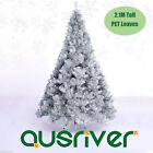 7FT 2.1M Christmas Xmas Tree Shinning Silver 1076Tips Metal Stand Jupiter SIL210