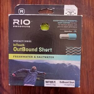 Black RIO Products Fly Line Outbound Short SHD Type 6 Wf10S6