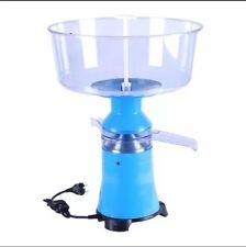 NUOVO!!! Crema di Latte Elettrico SEPARATORE CENTRIFUGO macchina in plastica 100L/H in tutto il mondo