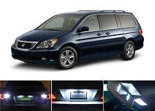 White LED Package - License + Vanity + Reverse for Honda Odyssey (8 Pcs)