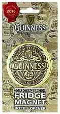 Guinness 2016 Collectors Edition bottle cap opener / fridge magnet  (sg 5416)