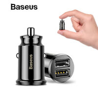 Baseus Grain Mini Dual USB Smart 3.1A Car Charger for iPhone Samsung Google