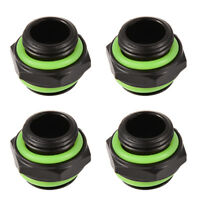 4pcs G1/4 External Thread Fittings Connector Adapter for PC Water Cooling System