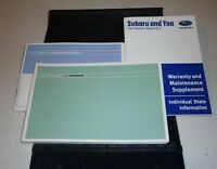 2007 SUBARU FORESTER OWNERS MANUAL SET GUIDE 07 w/case 2.5x SPORT LIMITED AWD