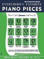 Everybody's Favorite Piano Pieces: Piano Solo, , Good Book