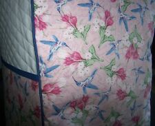 Hummingbirds Birds Quilted Fabric Cover for KitchenAid Mixer New