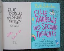 RUTH SABERTON SIGNED DATED ELLIE ANDREWS SECOND THOUGHT