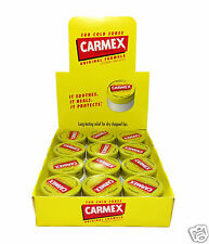CARMEX Lip Balm 12 Jars 0.25oz Brand New Factory Sealed Free Shipping