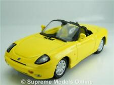 STARLINE FIAT BARCHETTA CAR MODEL 1:43 SIZE YELLOW CABRIOLET CONVERTIBLE T34Z