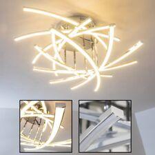 Deckenleuchte LED Design Flur Strahler Wohn Zimmer Chrom Leuchten Decken Lampen