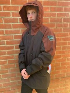 BNWT O´Neill Men's PM Total Disorder Jacket Ski Snowboard Black Out RRP £229
