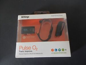Withings Pulse O2 Smart Activity Tracker With Blood Oxygen Level (NEW) #F100