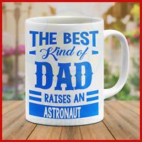 Mug Dad Father Daddy Grandpa Birthday Astronaut Gift Surprise Holiday Mugs Cool