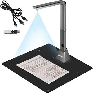 VEVOR Scanner per Documenti Formato Scanner A3 con Obiettivo da 10 Megapixel
