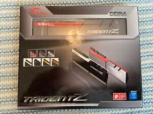16GB (8GBx2) G.SKILL Trident Z PC Desktop Memory DDR4 3200MHz C16 Kit