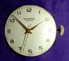 Universal Geneve Cal.232 Working-Timed Movement-Dial-Hands-Stem-Crown-Washer
