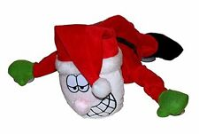 4x MUSICA Babbo Natale Babbo Natale decorazione di Natale Finestra VENTOSA AUTO