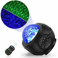 LED Galaxy Starry Night Light Projector Ocean Star Sky Party Speaker Lamp Gift