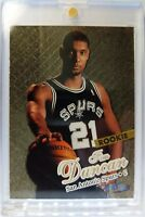 1997-98 Fleer Ultra Gold Medallion Edition Tim Duncan Rookie RC #131G, Parallel