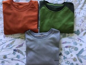 Patagonia Men's Capilene Shirts - Lot of 3 - Size Small