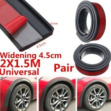 Hot ! Widening 4.5cm 2pcs 1.5M Car Fender Flare Extension Wheel Eyebrow Stripe