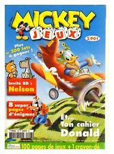 MICKEY JEUX N° 126 DE 2005  TBE