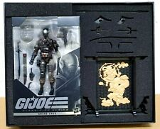 """(BOX WITH LITTLE DAMAGED) G.I.JOE CLASSIFIED SERIES 6"""" SNAKE EYES DELUXE"""