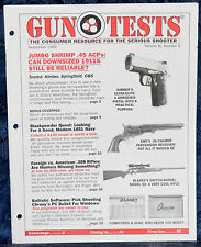 Magazine GUN TESTS, Sep 1999 KIMBER Ultra Elite PISTOL, REMINGTON 700 ADL RIFLE