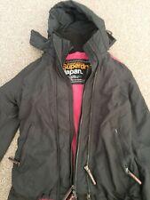 Authentic Superdry Japan The Windcheater Ladies xs Black Jacket EXC