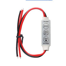 1X 12V 72W 9 Mod Low-profile Inline Controller Dimmer Switch for LED Strip Light