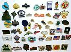 %F0%9F%92%A5+Mixed+Lot+of+54+Vintage+Metal+%26+Enamel+Lapel+Hat+Pins+Medals+Nice+Collection