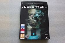 GAME PC DVD OBSERVER POLISH SPECIAL EDITION WITH ARTBOOK AND POSTER - NEW