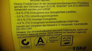 Josera Mineralleckschale Universalleckschale 15kg nach ÖKO-Kontrollstelle DE-060