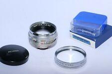 Voigtlander Ultramatic SEPTON  50mm f/2 fast lens. Use on Digital Mirrorless cam
