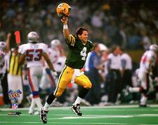 BRETT FAVRE Super Bowl XXXI (1997) Green Bay Packers Premium POSTER Print