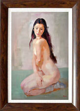 Original Nude Paintings  Hand painted  Nude lady by Hank
